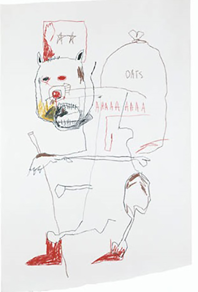 Jean-Michel Basquiat-Oats-1982