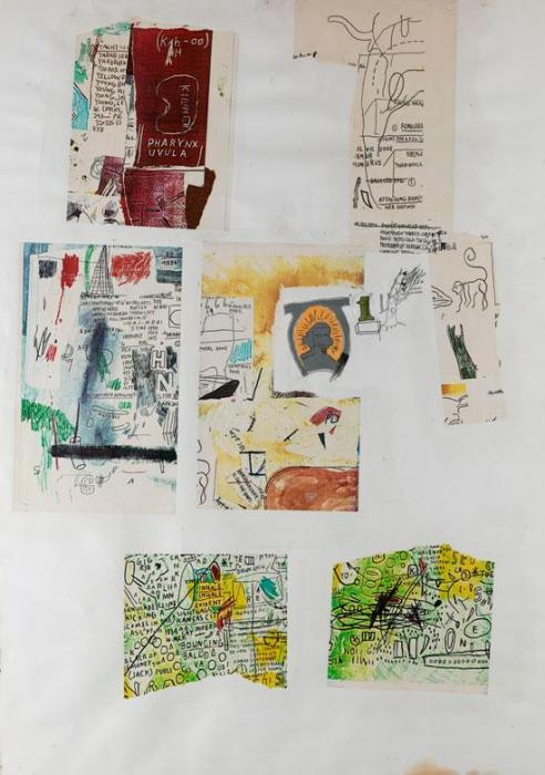 Jean-Michel Basquiat-Ohne Title (SAMO)-1986