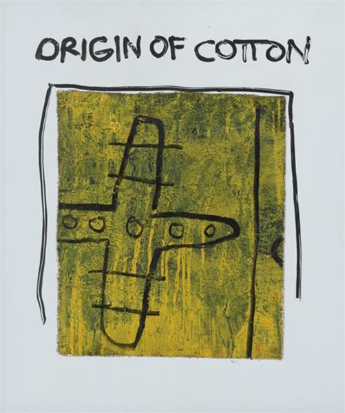 Jean-Michel Basquiat-Origin of Cotton-1981
