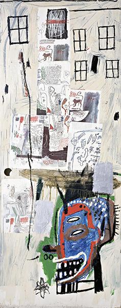 Jean-Michel Basquiat-Overrun-1985