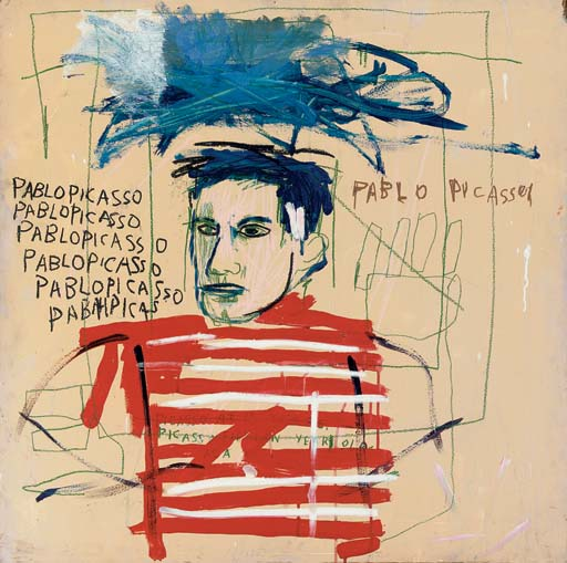 Jean-Michel Basquiat-Pablo Picasso-1984
