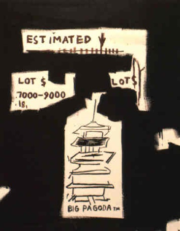Jean-Michel Basquiat-Page 36 (Auction Catalogue)-1984
