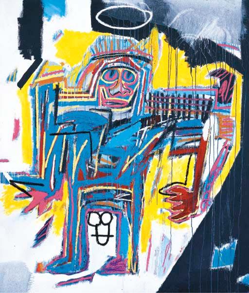 Jean-Michel Basquiat-Pater-1982
