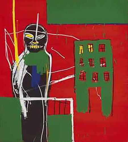 Jean-Michel Basquiat-Pedestrian 2-1984