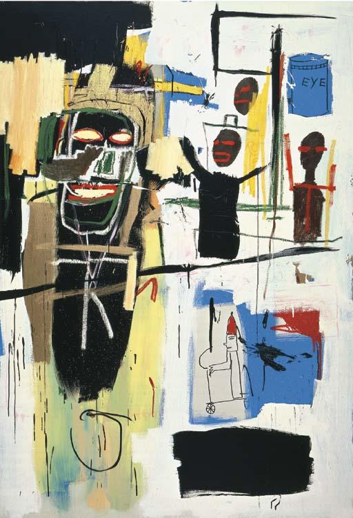 Jean-Michel Basquiat-Peel Quickly-1984