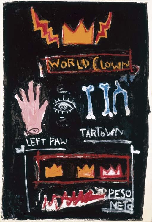 Jean-Michel Basquiat-Peso Neto-1982