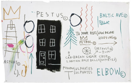 Jean-Michel Basquiat-Pestus-1982