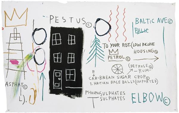 Jean-Michel Basquiat-Pestus-1982