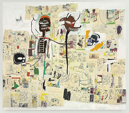 Jean-Michel Basquiat-Peter and the Wolf-1985