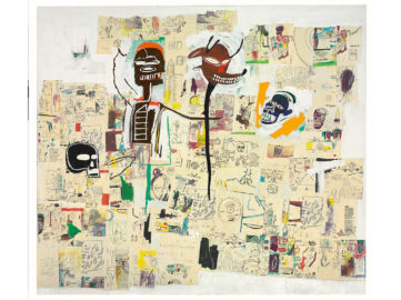 Jean-Michel Basquiat - Peter and the Wolf, 1985