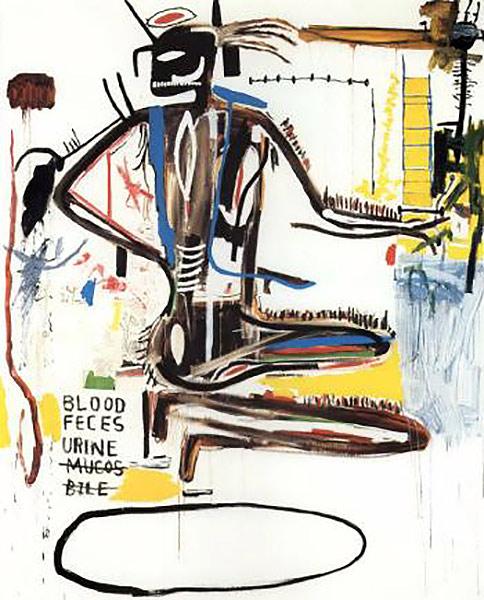 Jean-Michel Basquiat-Pharynx-1985