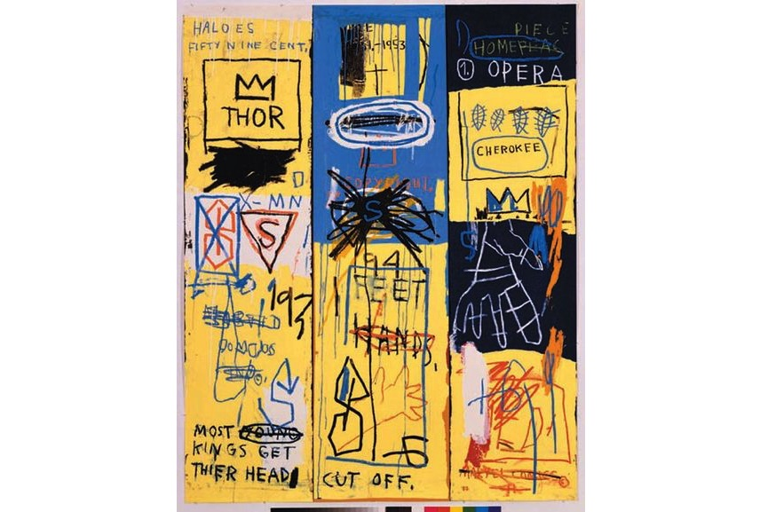Jean-Michel Basquiat - Placeholder Untitled II (Suite of 4 works) ,1982