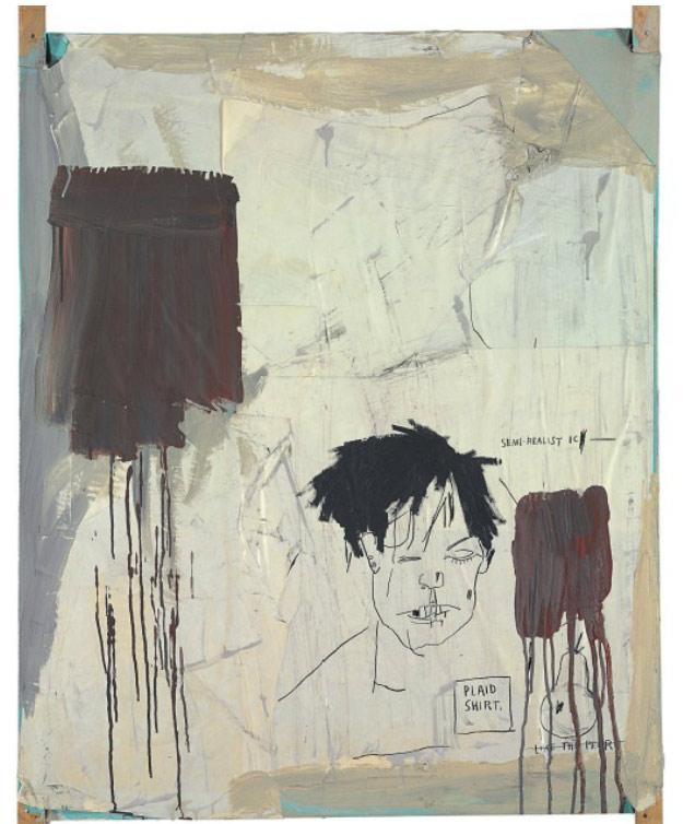 Jean-Michel Basquiat-Plaid-1983