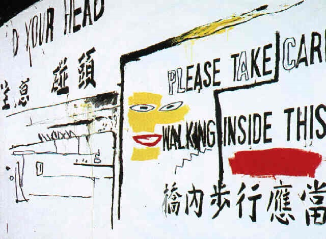 Jean-Michel Basquiat-Please Take Care-1985