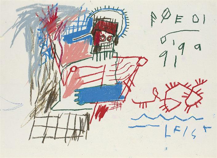 Jean-Michel Basquiat-Poedi-1982