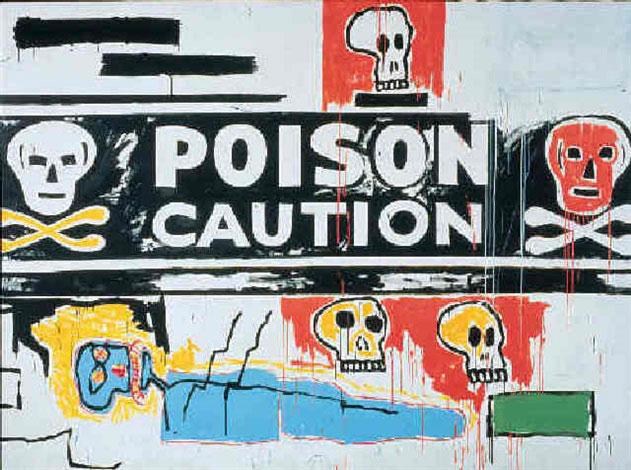 Jean-Michel Basquiat-Poison-1984