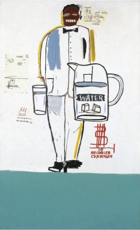 Jean-Michel Basquiat-Porter-1984