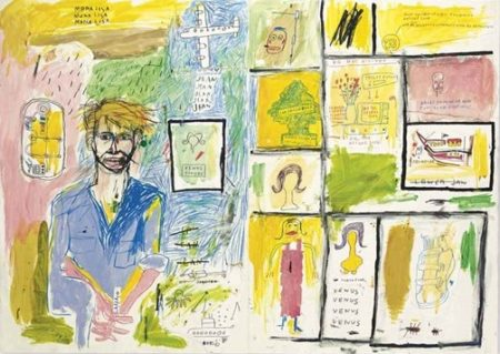 Jean-Michel Basquiat-Portrait of Jean Kallina-1984