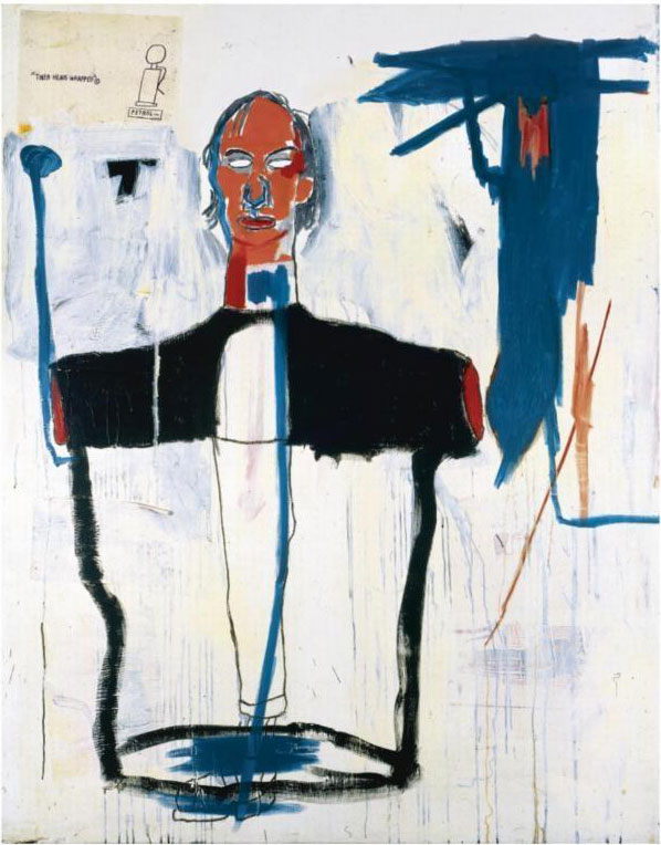 Jean-Michel Basquiat-Portrait of Jon-1985