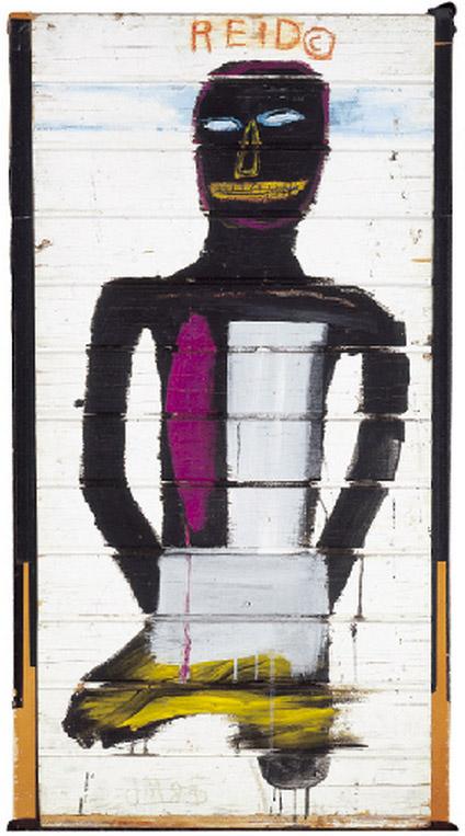 Jean-Michel Basquiat-Portrait of Reid Stowe-1985