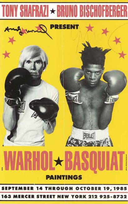 Jean-Michel Basquiat-Poster for Warhol/Basquiat Paintings-1985