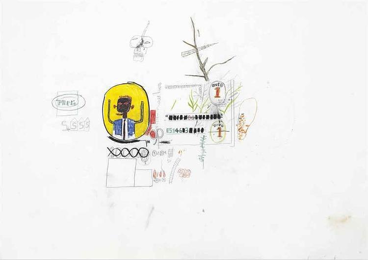Jean-Michel Basquiat-Pree-1985