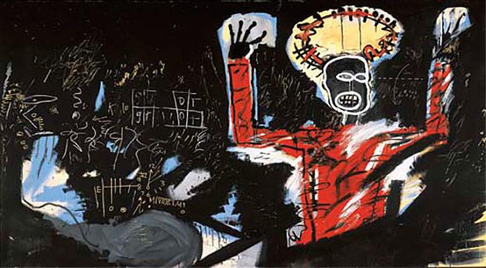 Jean-Michel Basquiat-Profit I-1982