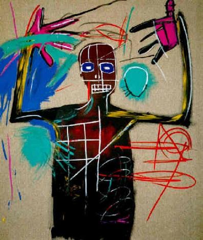 Jean-Michel Basquiat-Punch Bag-1983