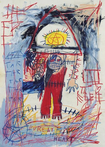Jean-Michel Basquiat-Pure at Heart-1982