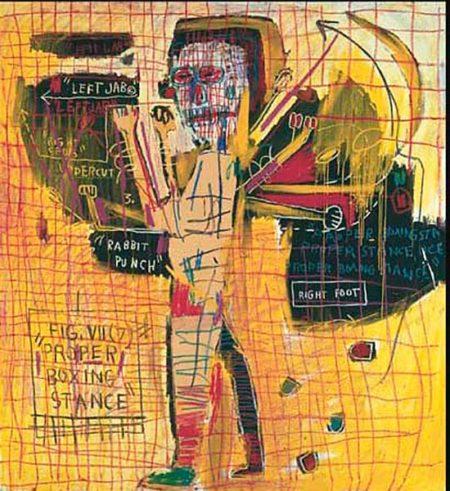 Jean-Michel Basquiat-Pyrex.Jaw-1983