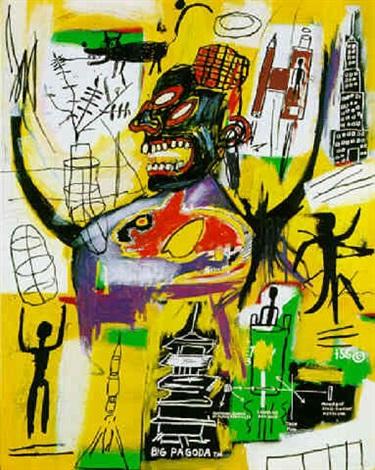 Jean-Michel Basquiat-Pyro-1984