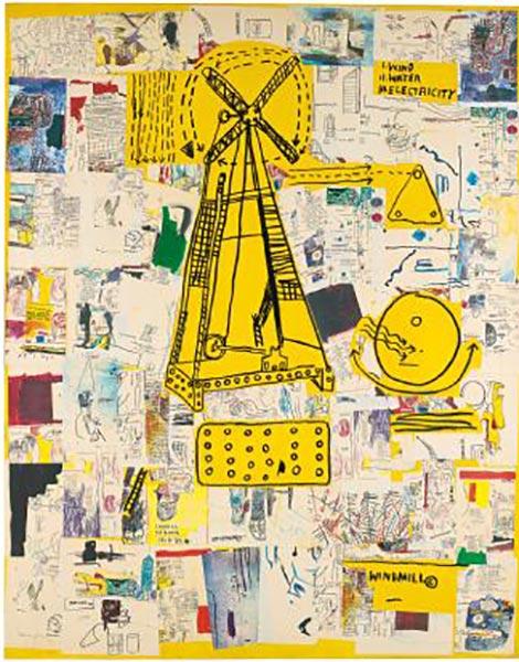 Jean-Michel Basquiat-Quij-1985