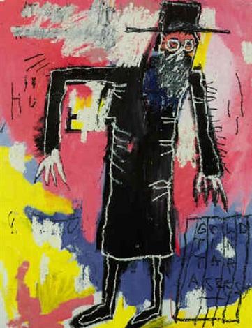 Jean-Michel Basquiat-Rabbi-1981