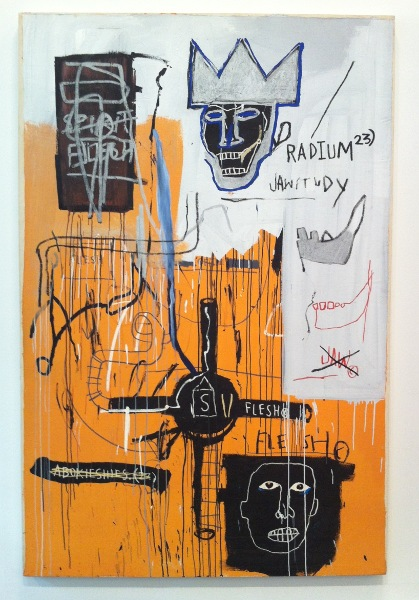 Jean-Michel Basquiat - Radium 23, 1982–83