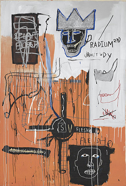 Jean-Michel Basquiat-Radium 23-1982