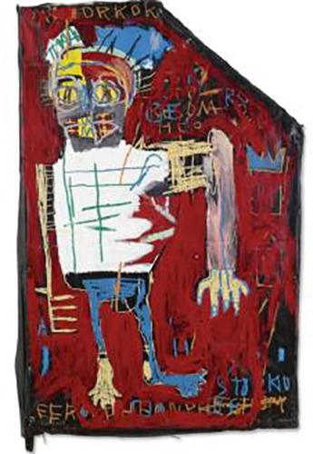 Jean-Michel Basquiat-Red Man One-1982