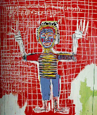 Jean-Michel Basquiat-Red Savoy-1983