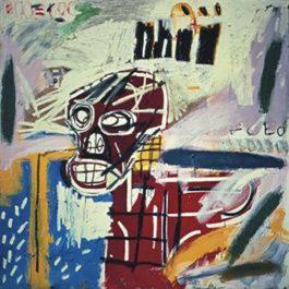 Jean-Michel Basquiat-Red Skull-1982