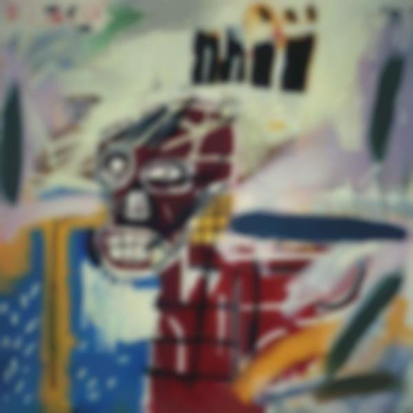 Jean-Michel Basquiat-Red Skull-1982