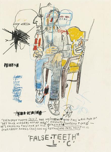 Jean-Michel Basquiat-Rene Ricard-1984