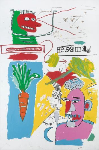 Jean-Michel Basquiat-Reok-1985