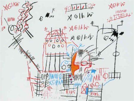 Jean-Michel Basquiat-Ribs-1982