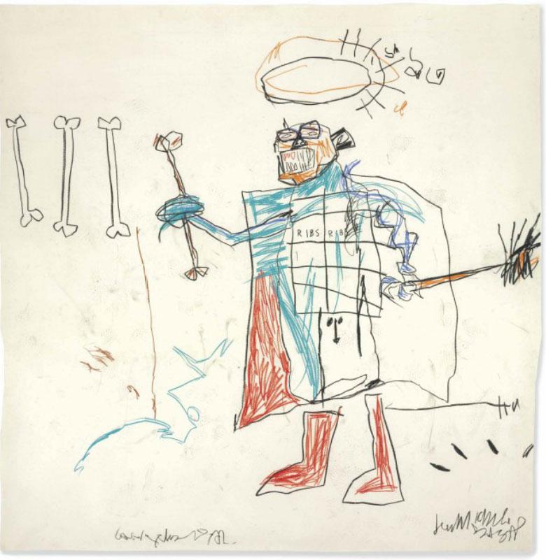 Jean-Michel Basquiat-Ribs Ribs-1982