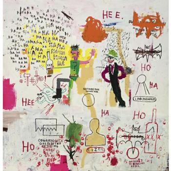 Jean-Michel Basquiat-Riddle Me this, Batman-1987