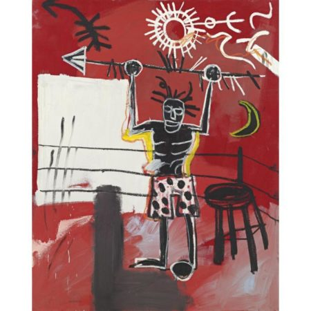 Jean-Michel Basquiat-Ring-1981