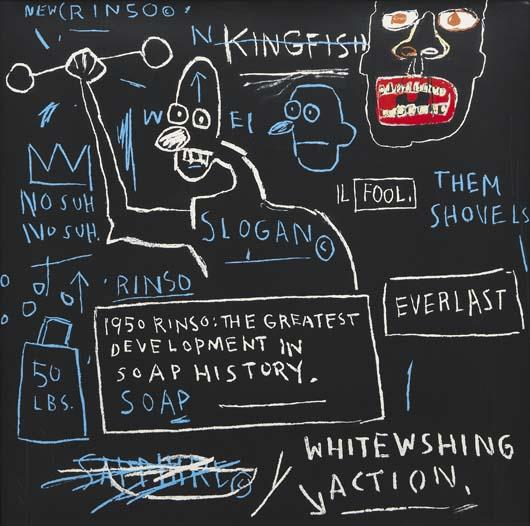 Jean-Michel Basquiat-Untitled (Rinso)-