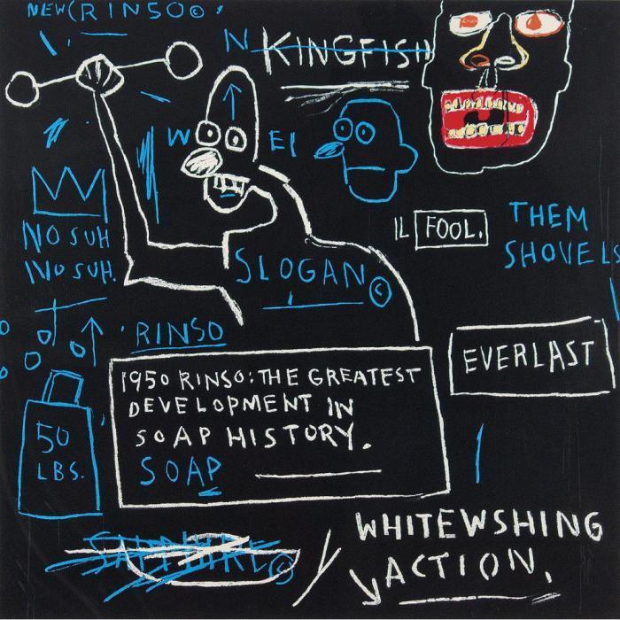 Jean-Michel Basquiat-Rinso-