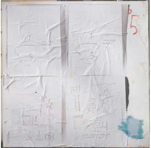 Jean-Michel Basquiat-Sans Titre (5)-1983