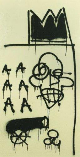 Jean-Michel Basquiat-Sans Titre (AAA Black Canon)-1981