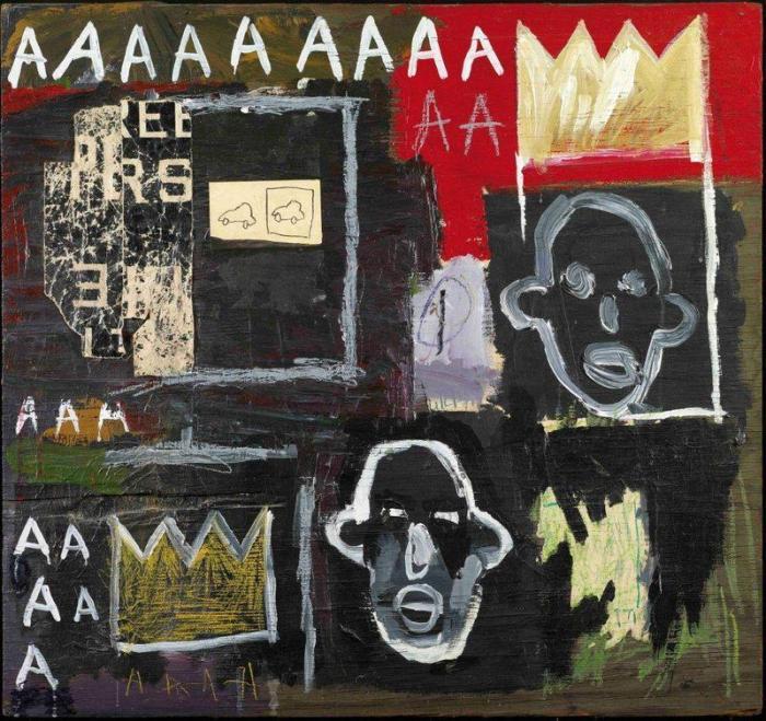Jean-Michel Basquiat-Sans Titre (Aaaaa)-1981